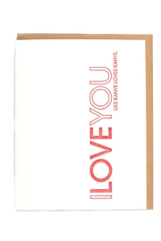 Sapling Press Kanye Love Card - Product Mini Image