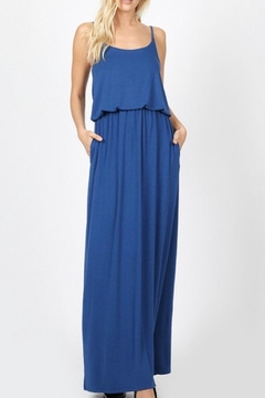 Zenana Outfitters Sapphire Adjustable-Strap Maxi - Product List Image