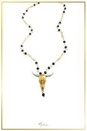 Malia Jewelry Sapphire Bull Necklace - Product Mini Image