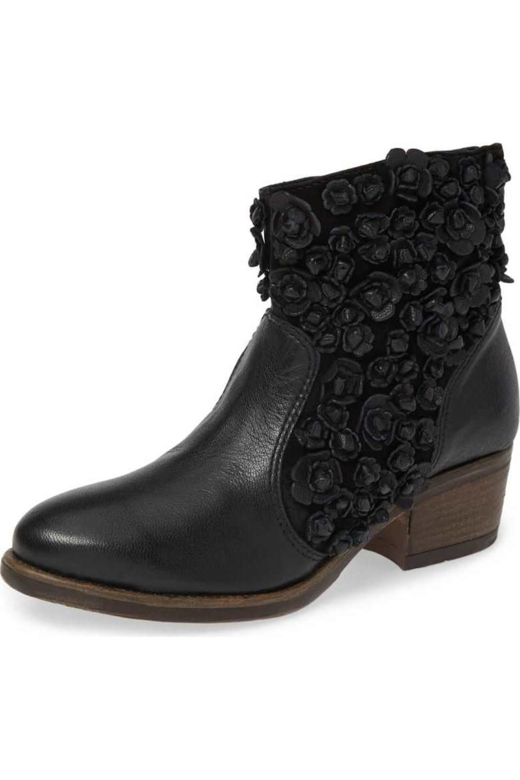 Sheridan Mia Sapphire Floral Bootie - Front Full Image