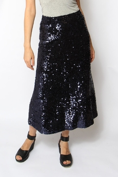Just Female Sapphire Sequin Skirt - Product List Image