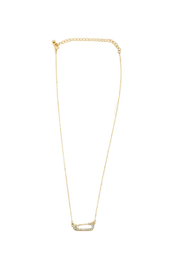 Sapphire Sky Iced Safety Pin - Product List Image