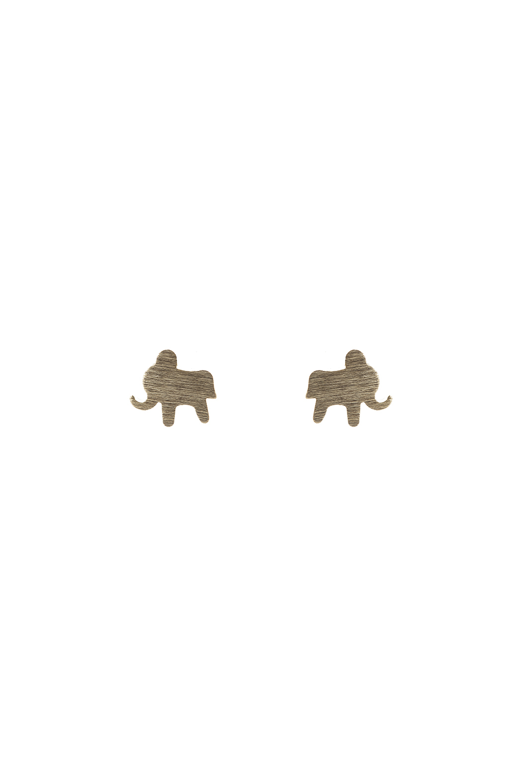 Sapphire Sky private label Brass Elephant Earring - Main Image