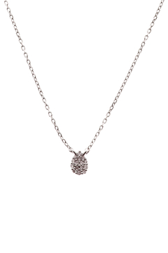 Sapphire Sky private label Silver Pave Necklace - Product List Image
