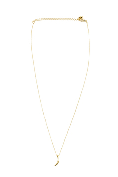 Sapphire Sky Tiny Tusk Necklace - Product List Image