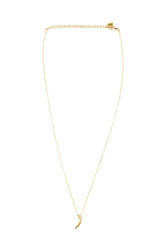 Sapphire Sky Tiny Tusk Necklace - Product Mini Image