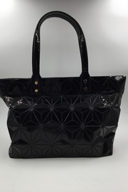 Sapphire Sky private label Black Patent Tote - Front cropped