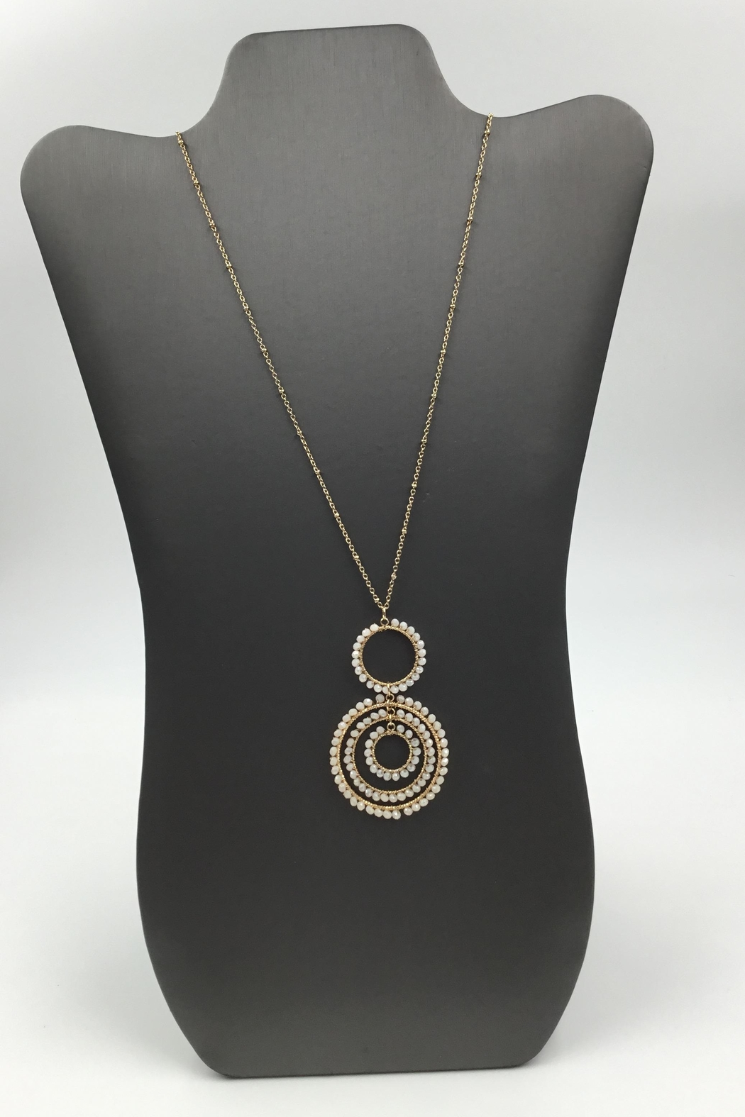 Sapphire Sky private label Shimmer-Bead Chain Necklace - Main Image