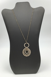 Sapphire Sky private label Shimmer-Bead Chain Necklace - Front cropped