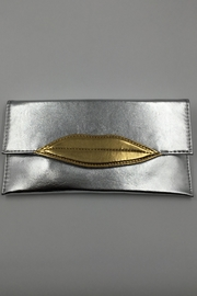Sapphire Sky private label Silver Lip Clutch - Product Mini Image