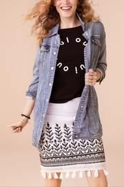 Tribal Sara Denim Jacket - Product Mini Image