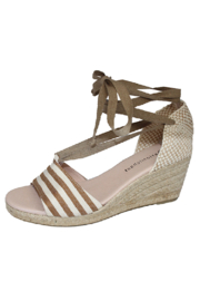 Eric Michael Sara Striped Espadrille - Product Mini Image