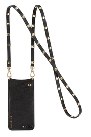 Bandolier Sarah Black/gold-Iphone-X - Product Mini Image