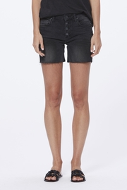 Paige Denim Sarah Longline Short w/ Exposed Buttton - Product Mini Image