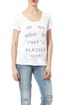 Blank Bella + Canvas Up All Night Tee - Product List Image