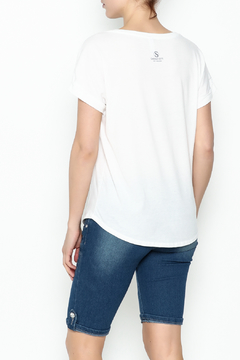 Sarah Ott Rolled Sleeve Dolman Tee - Alternate List Image