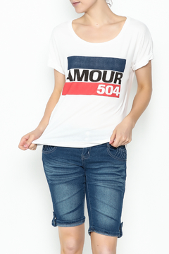 Sarah Ott Rolled Sleeve Dolman Tee - Product List Image