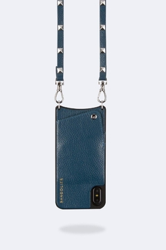 Bandolier Sarah Sapphire/silver Iphone X - Alternate List Image