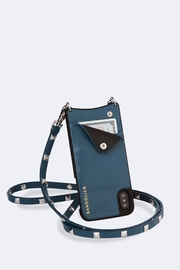 Bandolier Sarah Sapphire/silver Iphone X - Product Mini Image