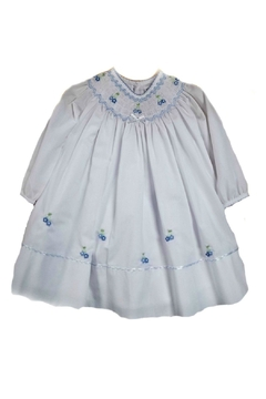 Sarah Louise Baby-Girl Hand-Smocked-Bishop Dress - Product List Image