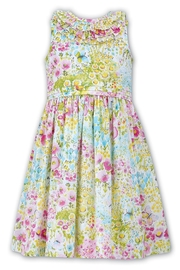 Sarah Louise Floral Print Dress - Front cropped