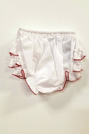 Sarah Louise Ruffled Bloomer Diaper-Panty - Front full body
