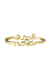 Sarah Ott Gold Nola Love Bangle - Product Mini Image