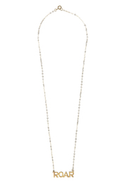 Sarah Ott Gold Roar Necklace - Front cropped
