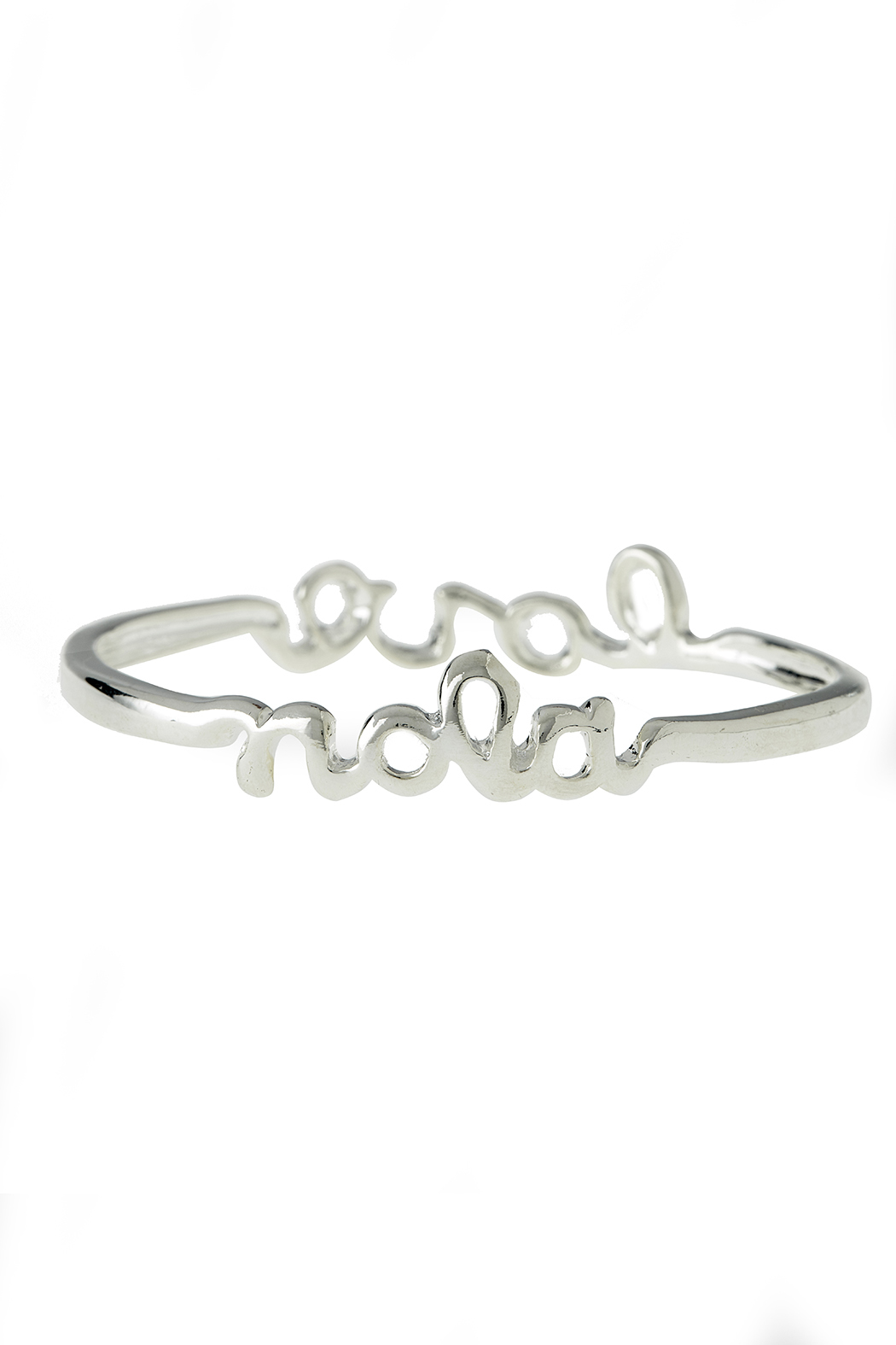 Sarah Ott Silver Nola Love Bangle - Main Image