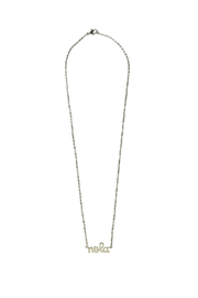 Sarah Ott Silver Nola Necklace - Product Mini Image