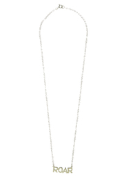Sarah Ott Silver Roar Necklace - Product Mini Image