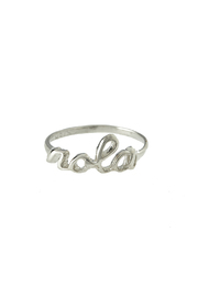 Sarah Ott Sterling Nola Ring - Product Mini Image
