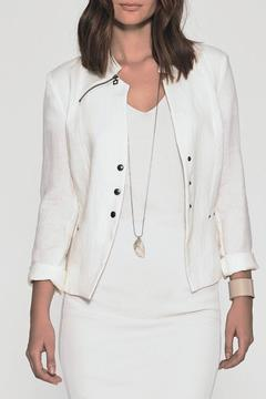 Shoptiques Product: Fitted Linen Jacket