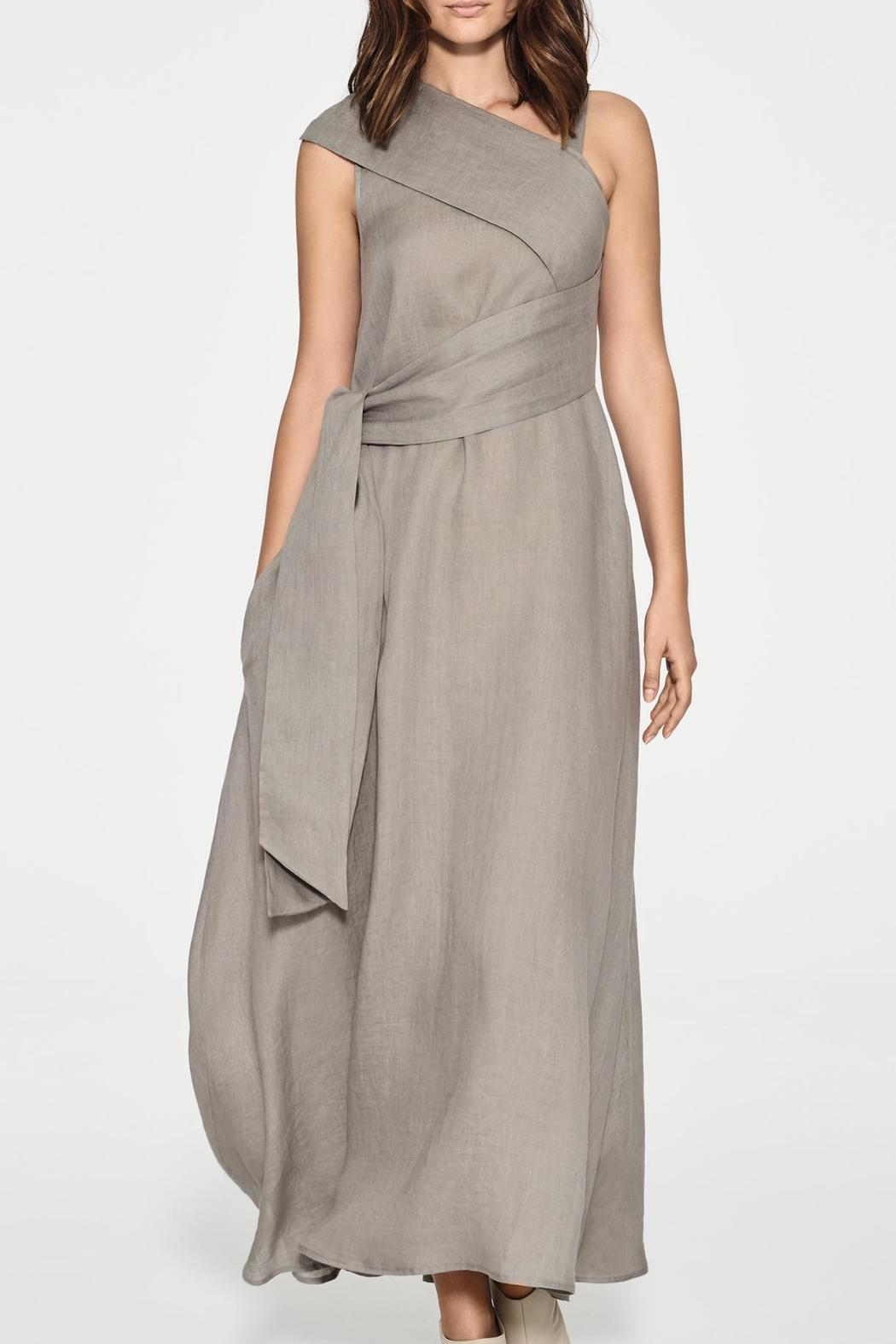 1b59e9a088d Sarah Pacini Linen Maxi Dress from Canada by The Oyster — Shoptiques
