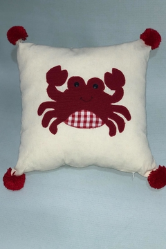 Sarahuaro and Choyera Empowering Women Crab Square Pillow - Product List Image