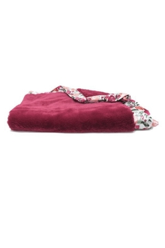 Shoptiques Product: Raspberry Lush Blanket