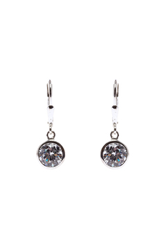 Shoptiques Product: Circle Crystal Earring