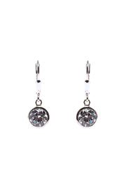 Sarapaan Circle Crystal Earring - Front cropped