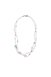 Sarapaan Double Crystal Necklace - Product Mini Image