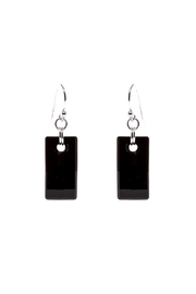Sarapaan Urban Black Earring - Front cropped