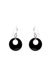 Sarapaan Victory Black Earring - Product Mini Image
