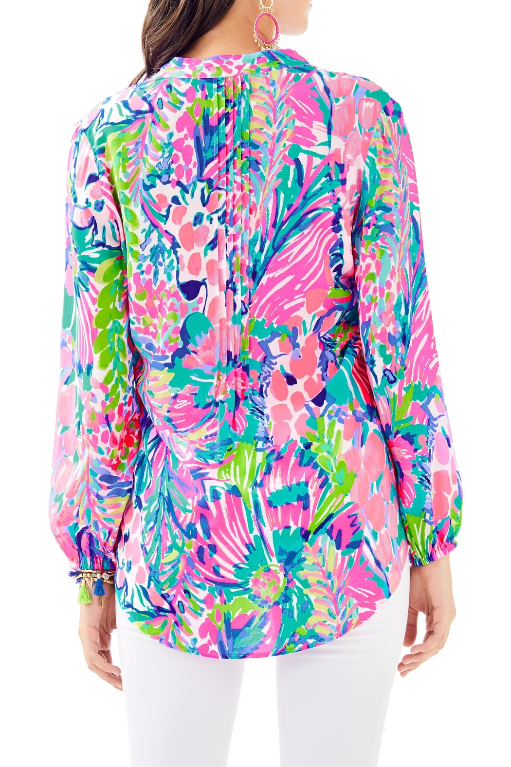 Lilly Pulitzer Sarasota Tunic Top - Front Full Image