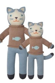 Blabla Kids Sardine Cat Doll - Front cropped