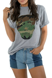 ReLove Sarge Camo Skull Army Tee - Product Mini Image