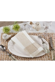 Saro Hemstitch Napkin - Product Mini Image