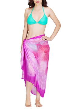India Boutique Sarong Beach Wrap - Alternate List Image