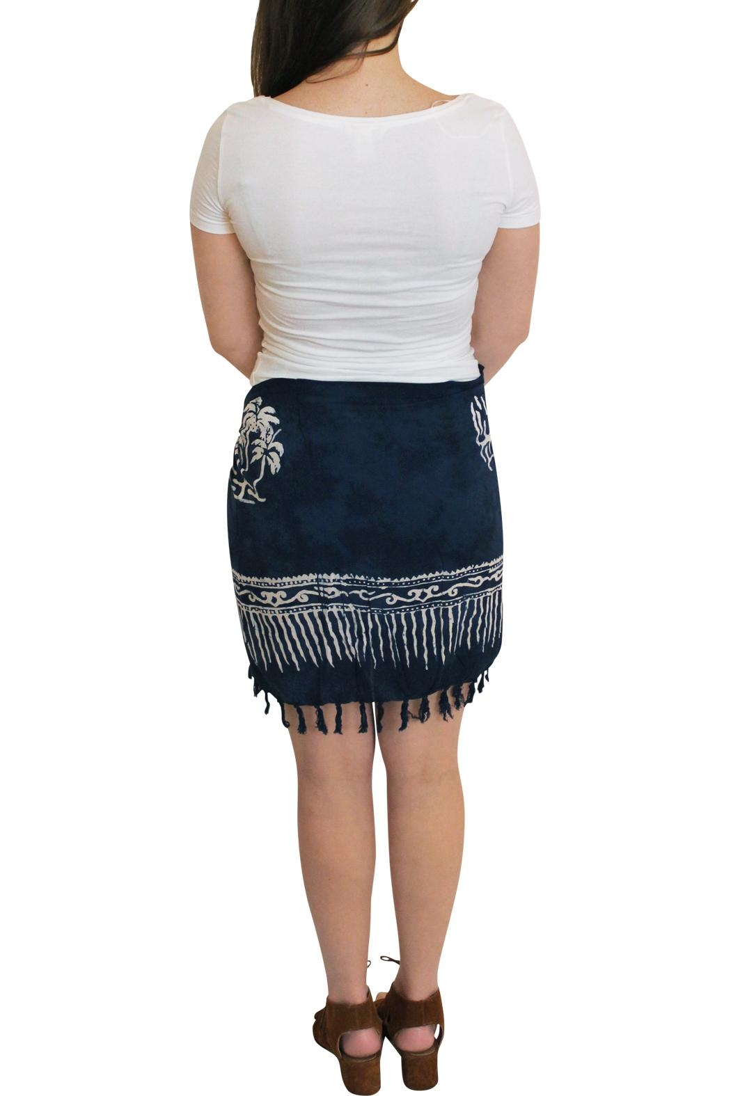 Summer Salt Body Sarong Coverup - Side Cropped Image