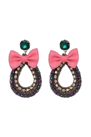 Madison Avenue Accessories Sasha Bow Earring - Front cropped