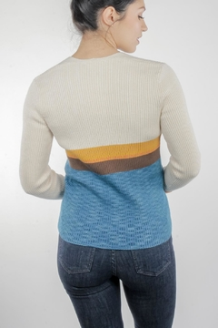 Illa Illa Sasha Button Sweater - Alternate List Image
