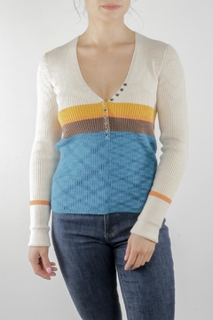Illa Illa Sasha Button Sweater - Product List Image